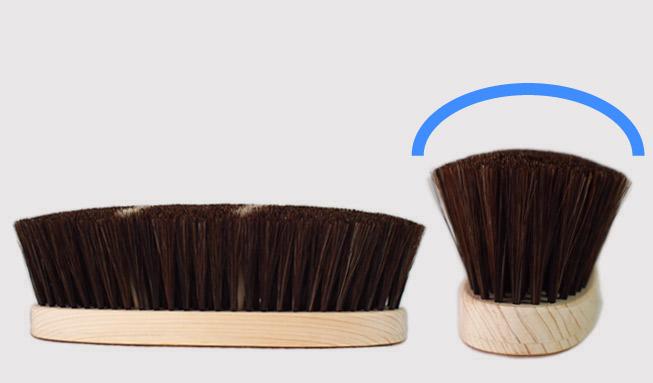 青山工房ブラシの特徴